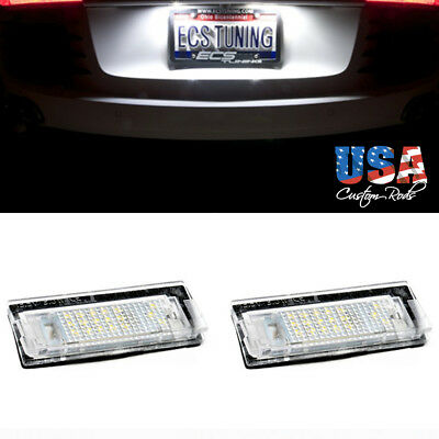 2x SMD LED ERROR FREE License Number Plate light For BMW 3 Series E46 4D 98-2003