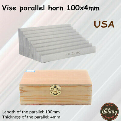 160x4mm 9 Pairs Precision Parallel Set Parallel Jig Block Bar Tools Kit Usa New