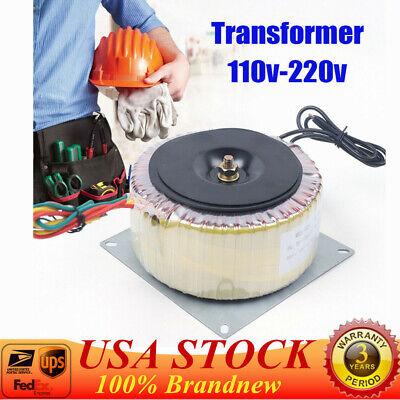 Us Toroidal Power Transformer 900w Low Frequency 45hz-60hz Isolation Transformer