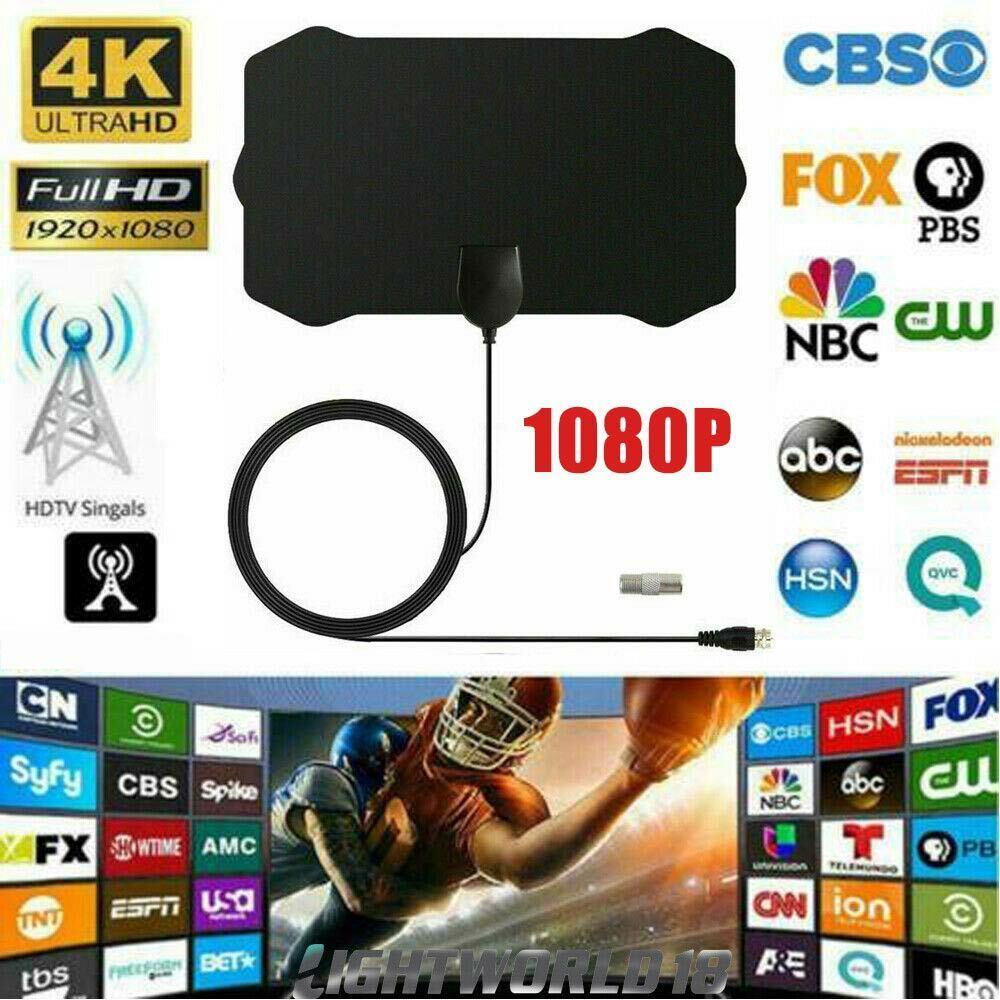 Antenna TV Digital HD 960 Mile Range Skywire Indoor 1080P 4K