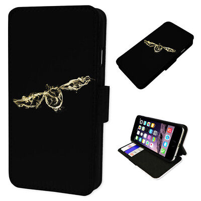Harry Potter Snitch Flip Phone Case Wallet Cover Fits Samsung & Iphone Models