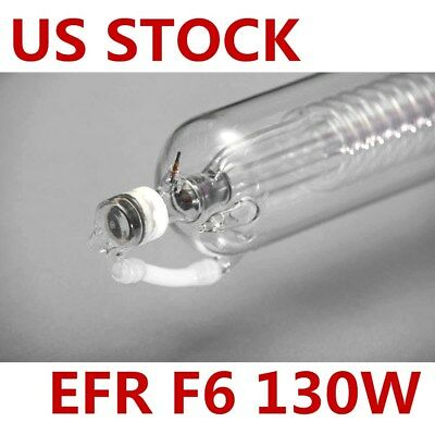 Us Stock Efr F6 130w Co2 Sealed Laser Tube 1650mml For Laser Engraving Engraver