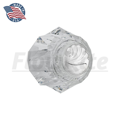 Replacement for Delta Faucet RP17451 Single Clear Knob Handl