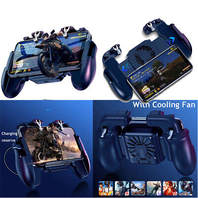 PUBG Mobile Phone Gaming Controller Joystick Cooling Fan Gamepad for IOS Android
