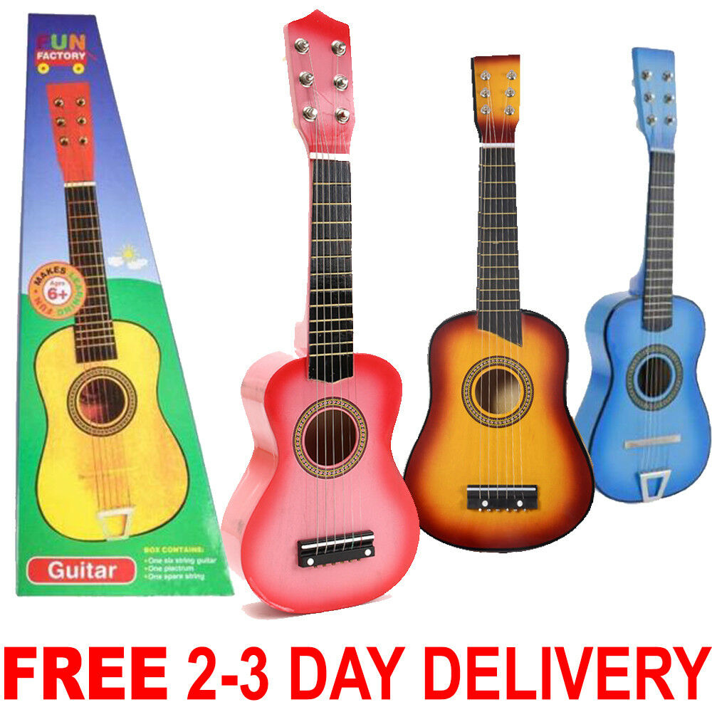 Kids Toy Guitar Childrens Acoustic Prop Musical String Pract
