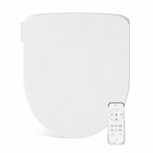 Bio Bidet - Slim Three Electric Self-Cleaning Toilet Seat w/Warm Water, Round