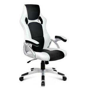Racing Office Chair Black White Sydney City Inner Sydney Preview