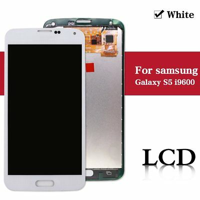 For Samsung Galaxy S5 i9600 Replacement LCD Display Digitizer Touch Screen White
