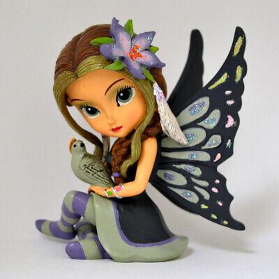 Jasmine Becket-Griffith Soothing Astrid Sugar Skull Fairy in Tea Cup Figurine