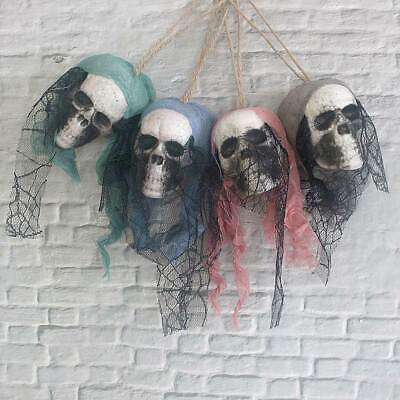 Halloween Dekor Piraten Leiche Schädel hängen Haunted House Bar Garten Dekor