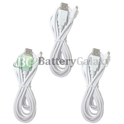 3 NEW Micro USB 10FT Cable for Phone Samsung Galaxy S4 S5 S6 S7 Edge Plus Active
