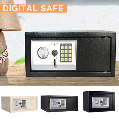Electronic Lock Safe Digital Security Box Home Office Money Cash Gun Fireproof