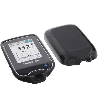 Hülle für Abbott Freestyle Libre 2 Tasche Schutz TPU Gummi Case Schwarz