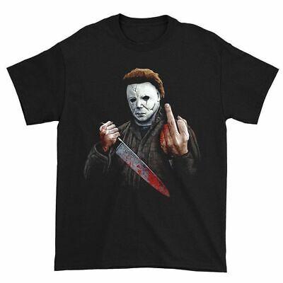 ers Mittelfinger Slasher Killer Unheimlich Horrorfilm (Filmes Halloween-michael Myers)