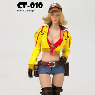 Cat Toys CT-010 Female Clothing Set Yellow Set for 1/6 Scale Action Figure