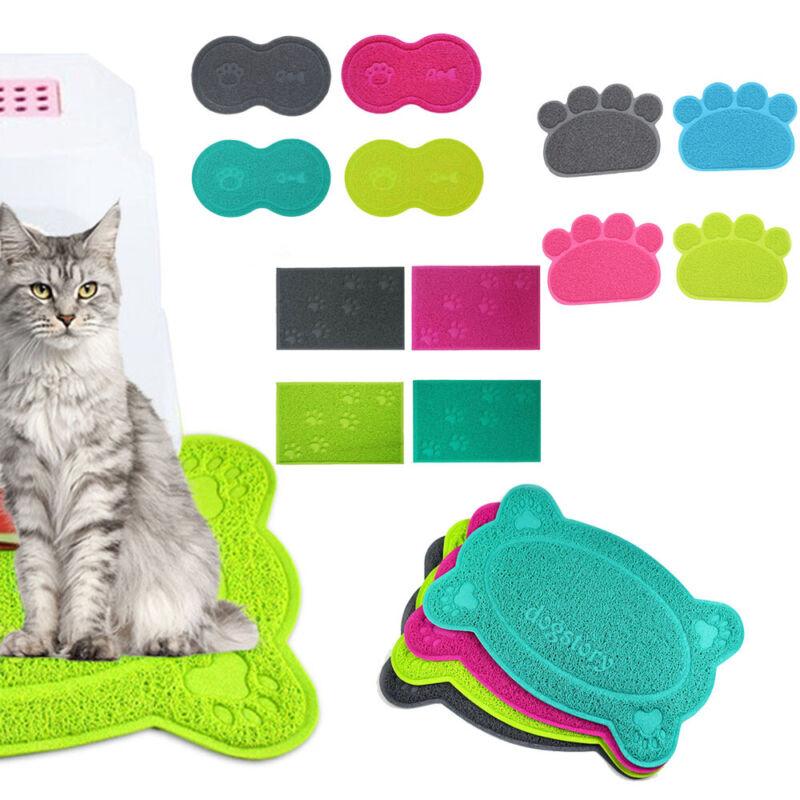 Katzen Toilette Vorlegematte Vorleger Farbwahl Katzenklo Matte Katzenstreu DE
