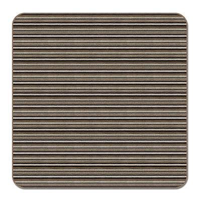 5 x 5 SKID-RESISTANT Area Rug Carpet Floor Mat MOCHA BROWN S