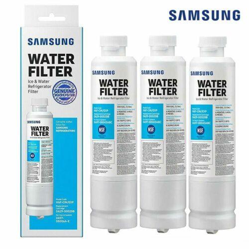 Genuine 3x Samsung DA29-00020B HAF-CIN/EXP Refrigerator Fresh Water Filter New