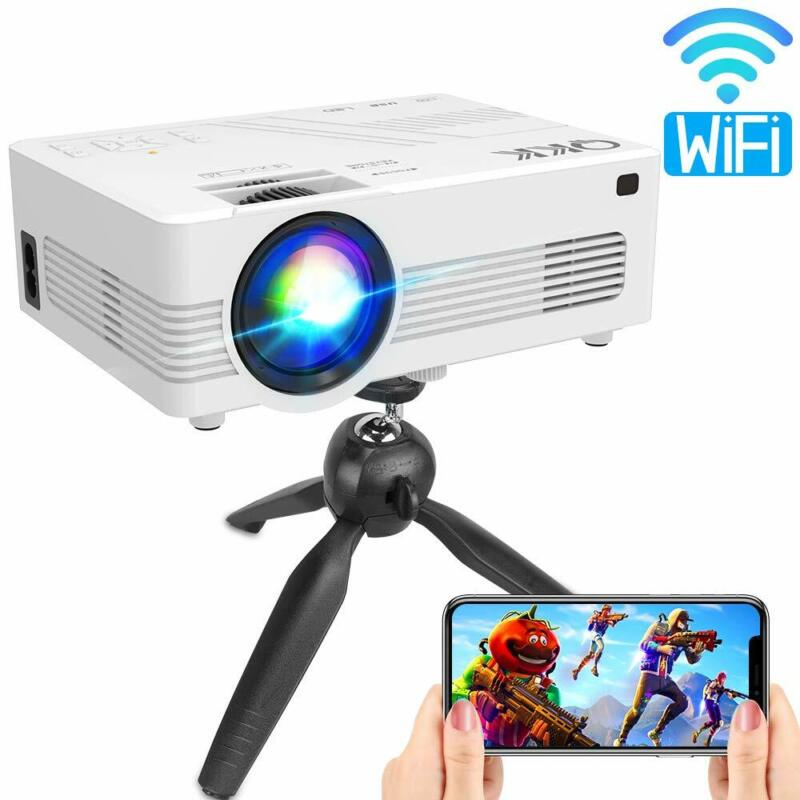 Upgraded 3600Lumens WiFi OR USB Projector Full HD 1080P Supp