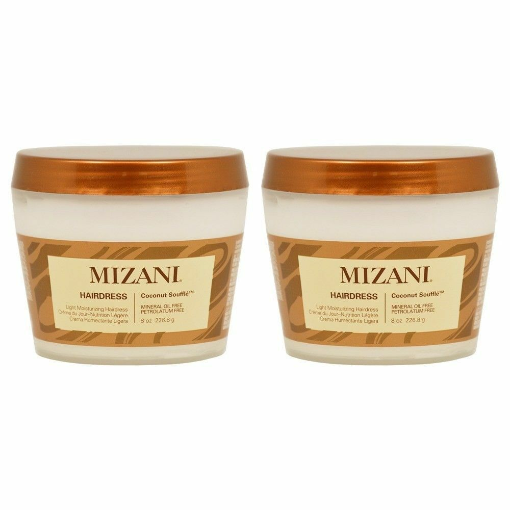 Mizani Coconut Souffle Hairdress 8oz Pack of 2 Hair Care & Styling