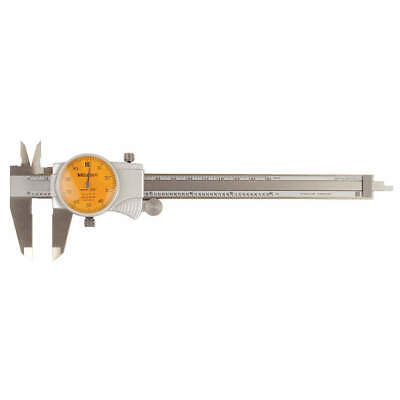 Mitutoyo 505-742-55 Dial Caliper6 Inorange0.100rev