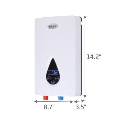 Marey Tankless Electric Water Heater ECO110 Refurbished Best 3 GPM 220V 5yr Wnty