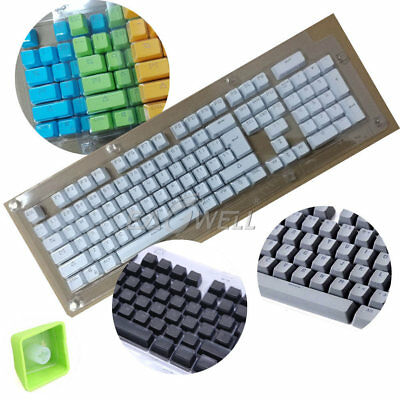 - NEW 104 KeyCaps Doubleshot PBT Backlit For Cherry MX Mechanical Switch Keyboard