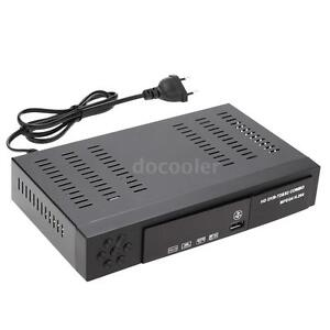 Full HD 1080P DVB-T2+ S2 COMBO Digital Video Receiver Set Up Box MPEG4 43Y2