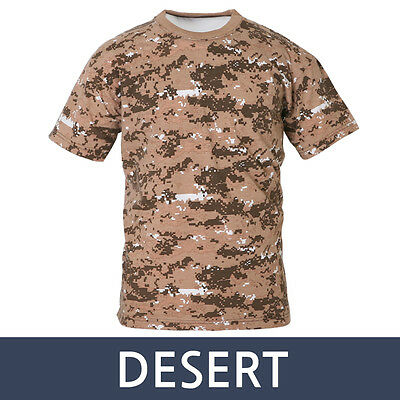 Herren Army Camouflage Outdoor Tarnmuster Militär Ärmelloses T-Shirt Tank Top