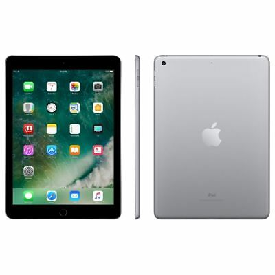 Apple Ipad 5Th Gen  A1823 32Gb 9 7 Tablet Wifi   4G Unlocked Space Gray Fair