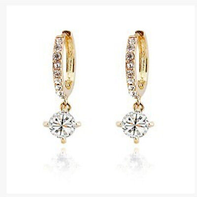 Color Available Fashion Jewelry Rhinestone Earrings Zircon Earrings Nice Gifts