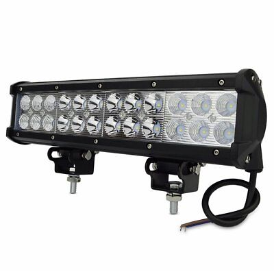 "New 12"" Inch LED Light Bar Kawasaki Mule John Deere Gator Yamaha Rhino UTV ATV"
