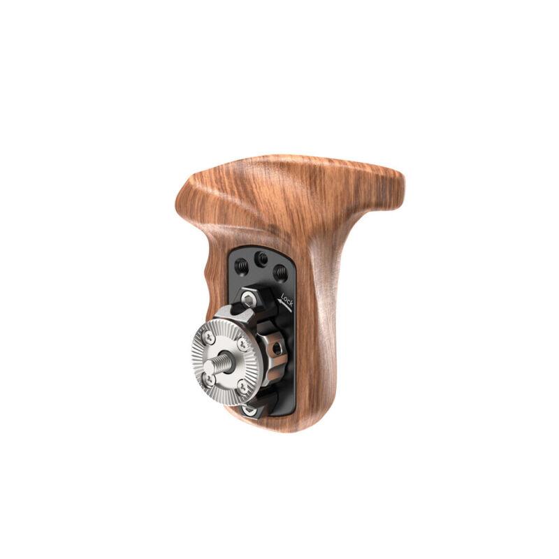 SmallRig Right Side Wooden Handle w/ Arri Rosette for Shoulder Mount Support Rig