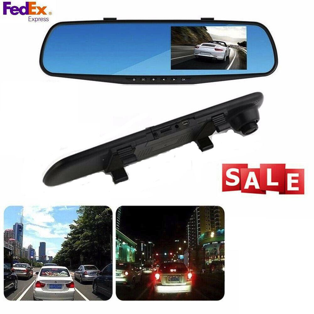 New 1080P HD Car Dash Camera Dual Cam Vehicle Front Rear DVR