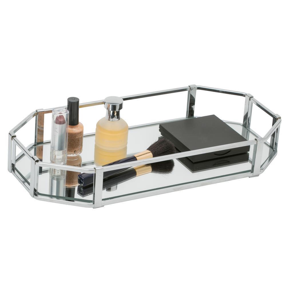 Home Details Rectangular Design Mirror Vanity Tray