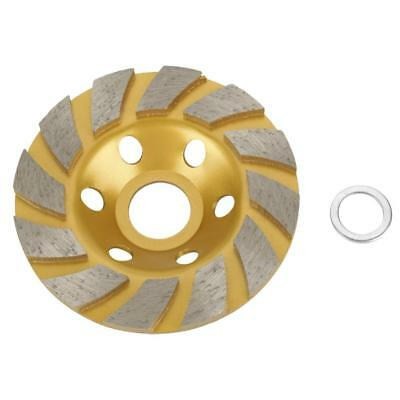 100mm4.5mm Golden Diamond Grinding Cup Wheel Stone Marble Concrete Sanding Disc