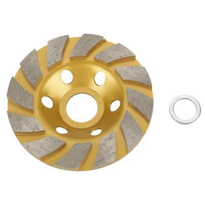 100mm4.5mm Golden Diamond Grinding Cup Wheel Stone Marble Concrete Sanding Disc