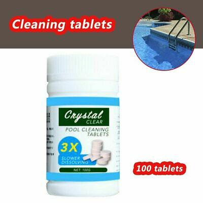 Pool Cleaning Tablet (100 tablets included) Magic Swimming Pool Cleaner 2020