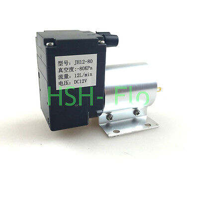Micro 12v 6w Air Mini Vacuum Pump Air Compressor Electric Pump Breast Pump 12lm