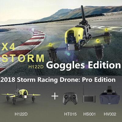 Hubsan H122D X4 STORM 5.8G FPV Micro Racing Drone Quadcopter 720P Camera Goggles
