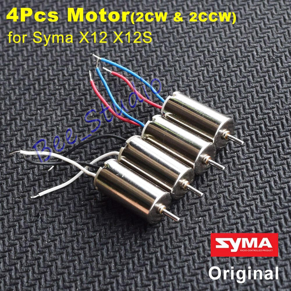 4PCS CW CCW Motor Engine for Syma X12 X12S Nano RC Quadcopter Drone Spare Parts