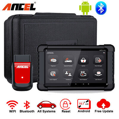 Ancel Car Diagnostic Tool Bluetooth OBD2 Automotive Scanner Tablet All Systems