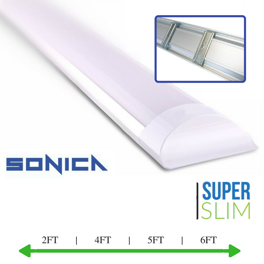 Details about 2ft 4ft 5ft 6ft led tube light fluorescent light fitting led batten fitting
