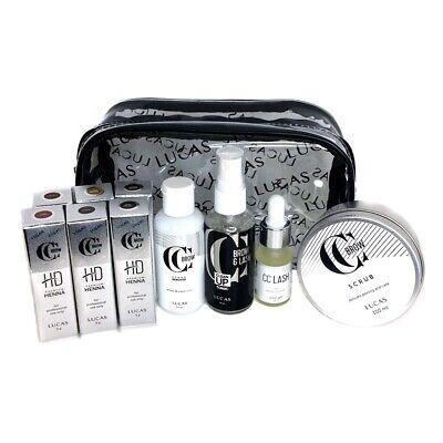 CC Brow Henna Kit Eyebrow Professional Tinting 6 Tint Premium HD 10 Piece Set
