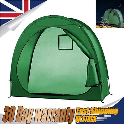 UK/Shed Bike Cave Tidy Tent Bicycle Storage Cover Outdoor Shelter Travel