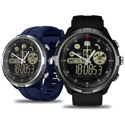 Zeblaze VIBE 4 HYBRID Smart Watch BluetoothRemote Camera 5ATM Waterproof R9T1