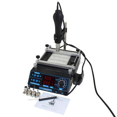 Pcb Preheater And Desoldering System With Hot Air Gun Item Csi853b