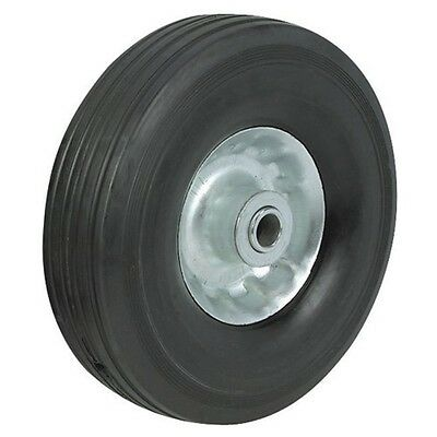 Qty 2 Never Flat 8 Solid Rubber Hand Truck Tires Wheels Dolly Tire