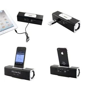 Mini Portable Speaker For iPhone4 4S MP3 Player Audio PC FM Radio Music Player
