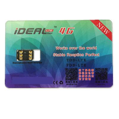 Ideal Unlock Turbo Sim Card For All Iphone 8 7 6S 6 Plus 5 Lte Ios 11 10 3 3 Gpp